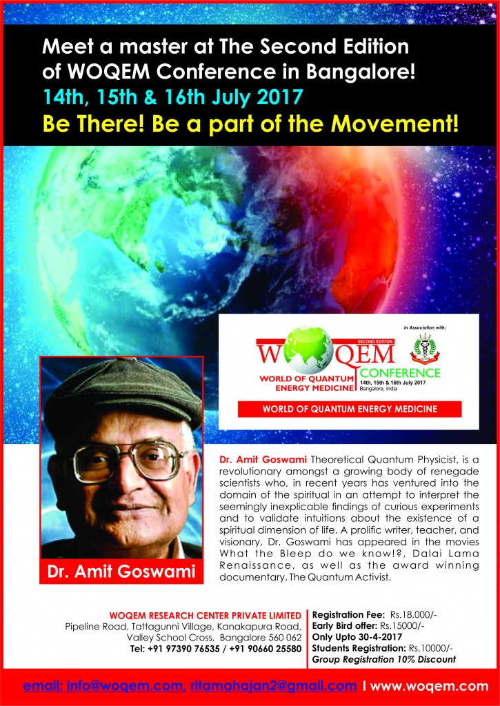 Dr. Amit Goswami