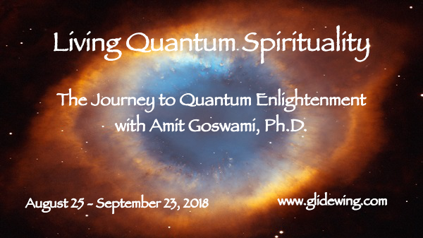 Living Quantum Spirituality Workshop Banner Graphic - August 2018